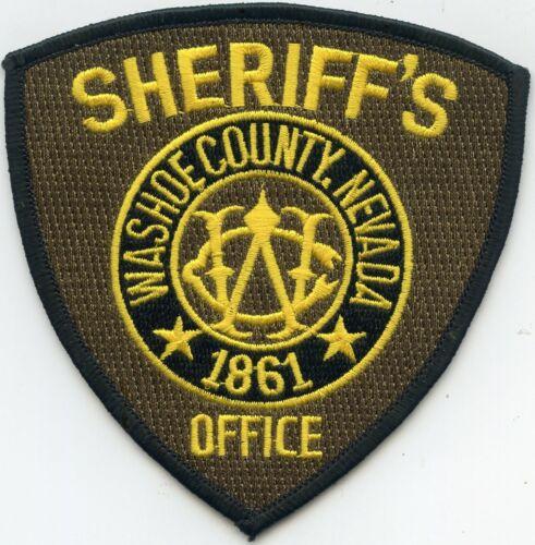 WASHOE COUNTY NEVADA NV SHERIFF POLICE PATCH