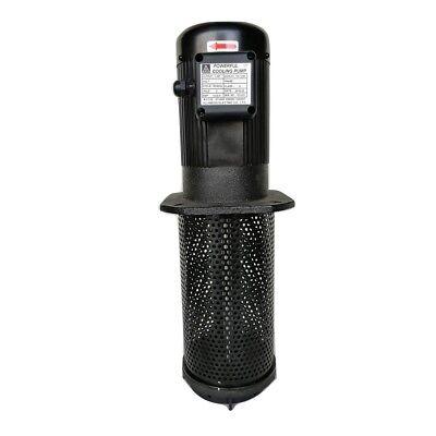 1hp Coolant Pump 3ph 240480v 290mm 11.4 Ptbspt 1 Lathe Cnc Circulation