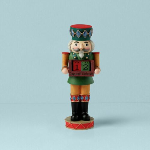 "NEW NWT Lenox 2020 11.5"" Christmas Countdown Nutcracker Figurine"
