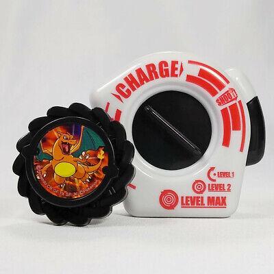 Pokemon BW Battle Wheel Strike - Charizard Spinning Top Nintendo Go Kanto G1