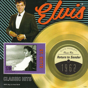 St-Kitts-2013-MNH-Elvis-Presley-Classic-Hits-III-1v-S-S-1962-Return-to-Sender