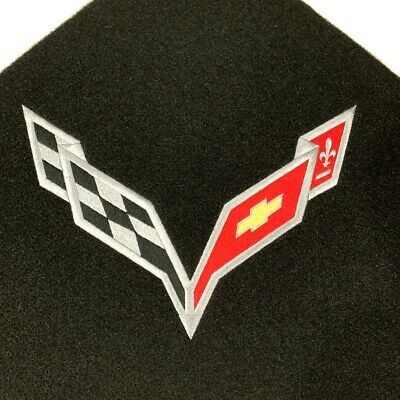 Corvette Stingray Cross Flag Trunk Liner C7 14-19