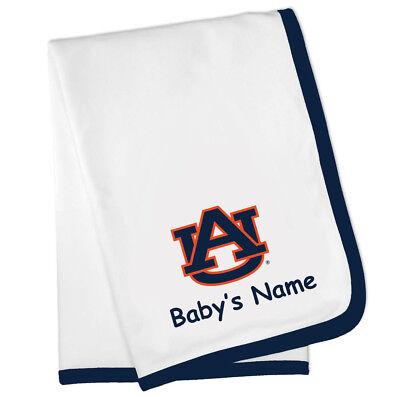 - Auburn Tigers Personalized Baby Blanket