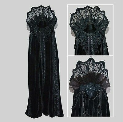 Elaborate Witch Vampire Cape Halloween Costume Katherine's Collection 28-728506 (Elaborate Halloween Costumes)
