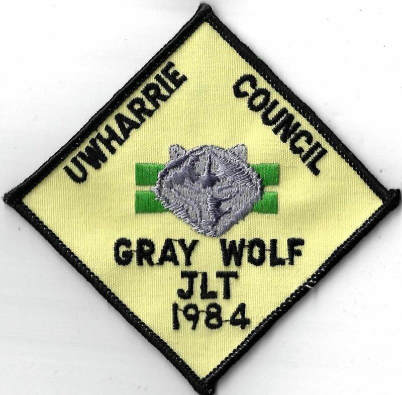 1984 Gray Wolf JLT Uwharrie Council BLK Bdr. [X-2419]
