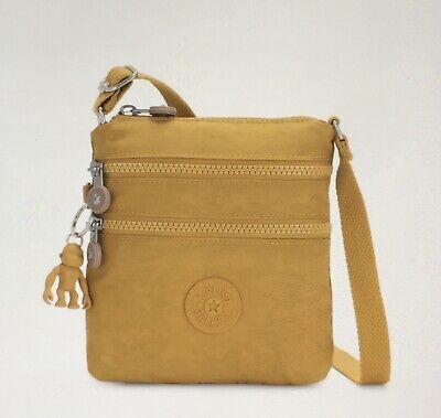 Genuine Kipling Alvar XS Shoulder/Crossbody Mini Bag In Harvest Gold