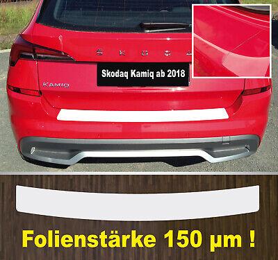 LADEKANTENSCHUTZ Lackschutzfolie für SKODA OCTAVIA 3 Limousine 5E 160µm MATT
