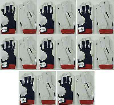 8 Paar Fahrer-Handschuhe AMARA PRO Gr. L Roadiehandschuhe Mechaniker-Handschuhe