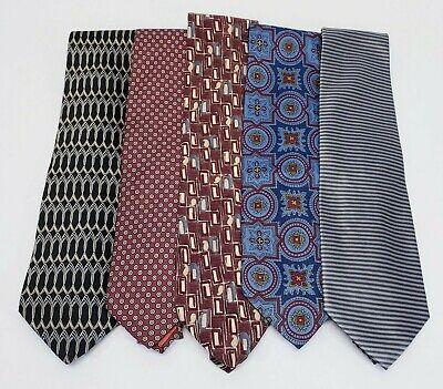 Henry Grethel & Barneys New York Men's Neck Ties lot of 5 Henry New York Tie