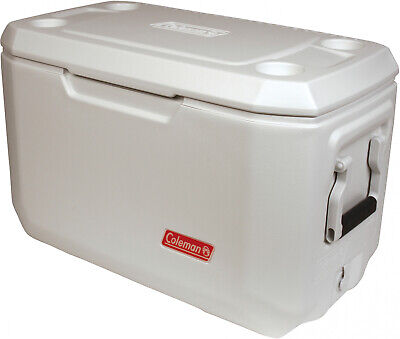 70 Quart Xtreme Marine Cooler Coleman 100 Cans Hinged Lid Cup Holders New Coleman 70 Quart Xtreme Cooler