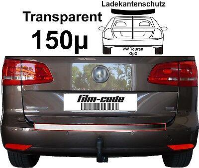 Lackschutzfolie Ladekantenschutz transparent 150µ VW Touran  GP2
