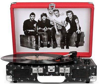 Crosley Cruiser Turntable   One Direction Limited Edition Cr8005a Od New