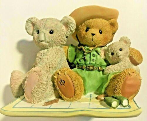 Ultra Rare Cherished Teddies 4003884 Frank Koala Bear Outback Australia NIB x