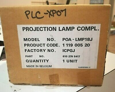 Uhp 150w Projector Oem Bulb Assy 6102795417 For Sanyo Plc-xp07 Belgium Fast Ship