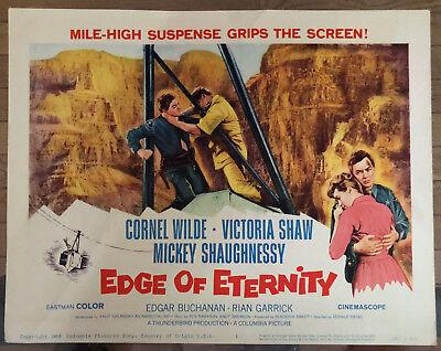 1959 Edge of Eternity Original Lobby Card