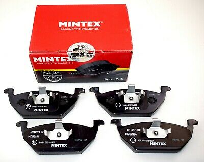 MINTEX FRONT AXLE BRAKE PADS FOR AUDI SEAT SKODA VW MDB2034 (REAL IMAGE OF PART)