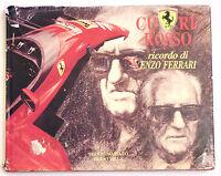 Cuore Rosso Ricordo Di Enzo Ferrari -publicar - Sergio Massaro-guido Villa 1994 - ferrari - ebay.it