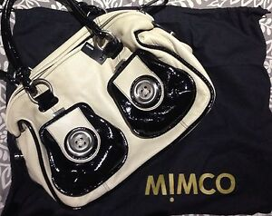 Mimco Button Shoulder Bag Collingwood Park Ipswich City Preview