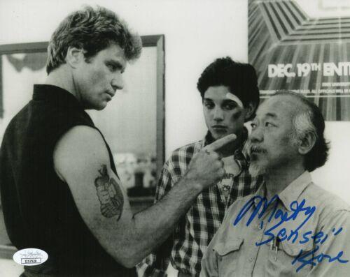Martin Kove Autograph Signed 8x10 Photo - Cobra Kai Karate Kid (JSA COA)