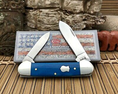 Case XX USA AAA+++ 2020 Smooth CARIBBEAN Bone CA50669 Canoe Pocket Knife