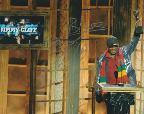 JIMMY CLIFF SIGNED  8X10 PHOTO W/PROOF !