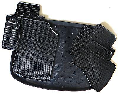 V I 1995-2002 Gummi Fußmatten Gummimatten Auto Set passend für Honda CR
