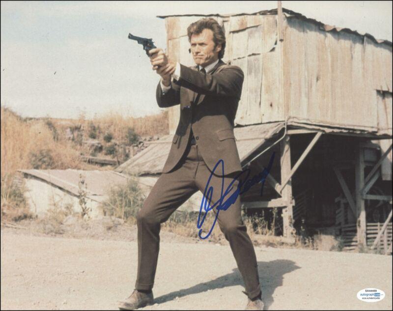 "Clint Eastwood ""Dirty Harry"" AUTOGRAPH Signed 'Harry Calahan' 11x14 Photo C ACOA"