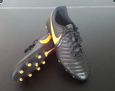 898b69b09 Nike Tiempo Legend 7 Club FG Size 9 Black   Orange AH7251-080 Soccer  Football