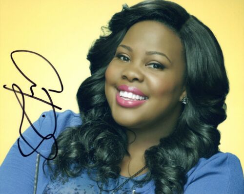 Amber Riley Signed Autographed 8x10 Photo GLEE Actress COA