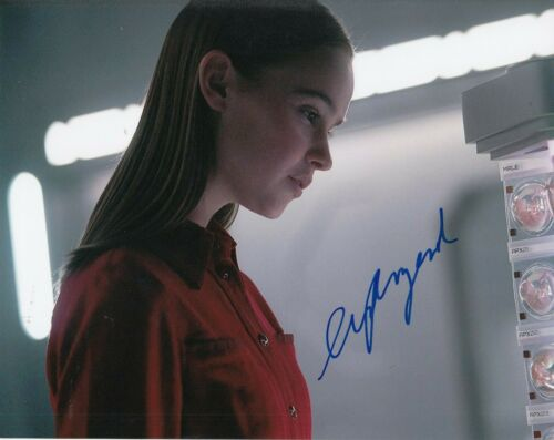 CLARA RUGAARD signed (I AM MOTHER) Movie Star 8X10 photo *Daughter* W/COA #1