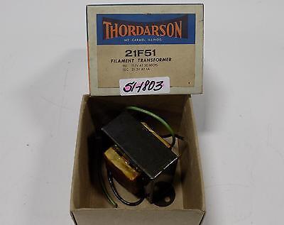 Thordarson Filament Transformer 117v 21f51 Nib
