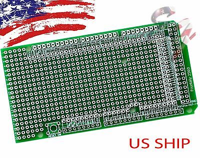 1x Prototype Pcb For Arduino Mega 2560 R3 Shield Board Diy Breadboard