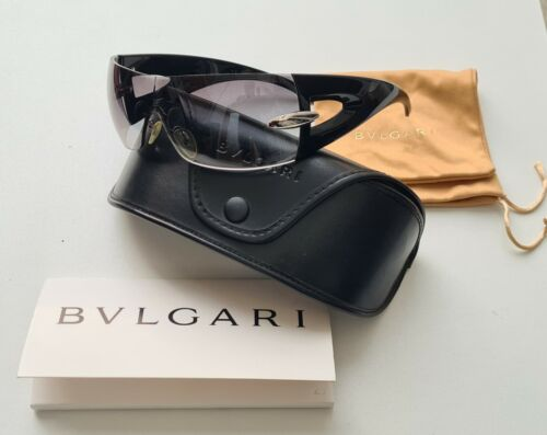 BONO sunglasses U2 Bvlgari 8025 901/G8 125 3N Black grey 360 Tour !!! no lp cd