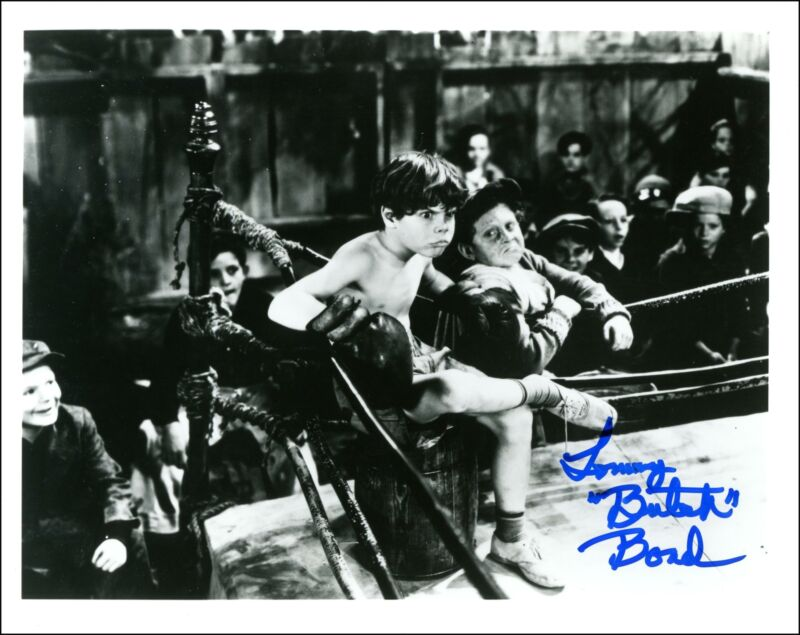 "Tommy 'Butch' Bond ""The Little Rascals"" AUTOGRAPH Our Gang Signed 8x10 Photo"