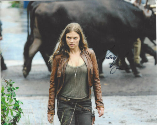TRACY SPIRIDAKOS SIGNED AUTHENTIC CHICAGO P.D. 8X10 PHOTO COA ACTRESS REVOLUTION