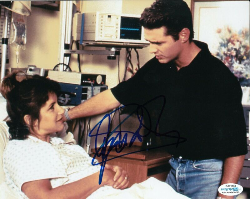 JASON PRIESTLEY signed (BEVERLY HILLS 90210) 8X10 photo Brandon BH90210 ACOA #5