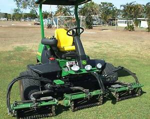 2015 John Deere Precision Cutt Golf & Turf Mower Garbutt Townsville City Preview