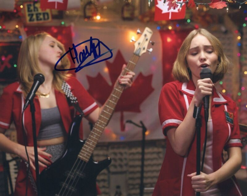 Harley Quinn Smith signed Young Hosers Movie 8x10 Photo w/COA Colleen McKenzie B