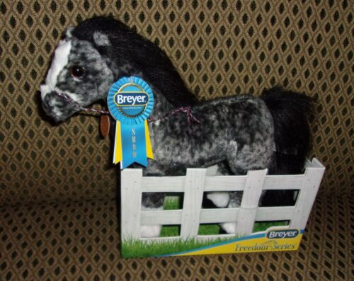 """NEW BREYER ANDALUSIAN """"A Horse Of My Very Own"""" PLUSH PONY 12in. Freedom Series"""