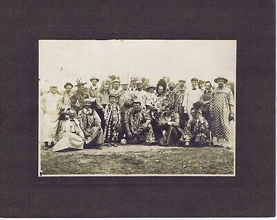 1920 Dress Men (Clowns funny dressed men cabinet photograph Moolah Shriners St. Louis)