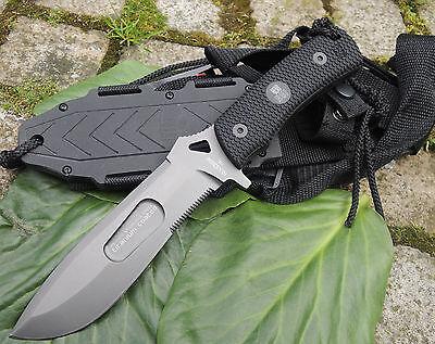 RUI Messer RAIDER XL Fahrtenmesser Outdoormesser  440 Stahl Nylonscheide 31958
