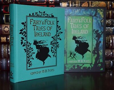 Fairy & Folk Tales of Ireland by Yeats New Deluxe Hardcover Slipcase 2 Day Ship