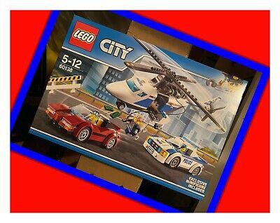 LEGO CITY 60138 POLICE INSEGUIMENTO AD ALTA VELOCITA' NUOVO MISB NEW RITIRATO