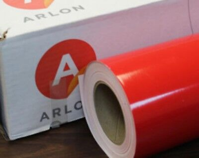 2ft X 1ft Red 5000 Arlon  Craft Decals Letterig Graphics Hobby Cutting Vinyl