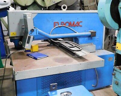 10071 Euromac Single End Cnc Punching Machine