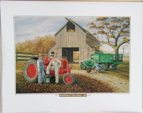 """Conoco Print Signed & Numbered """"SOMETHING TO CROW ABOUT"""" Rod Bailey #167/750"""
