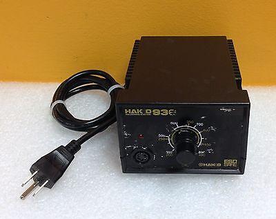 Hakko 936 392 To 896f 65w 120v 60 Hz 24v Output Soldering Station No Accy