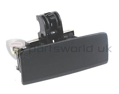Fiat Grande Punto Black glove box Front lid handle catch New & Genuine 735426145