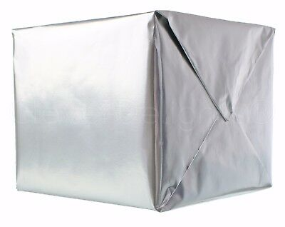 Metallic Silver Wrapping Paper - 30