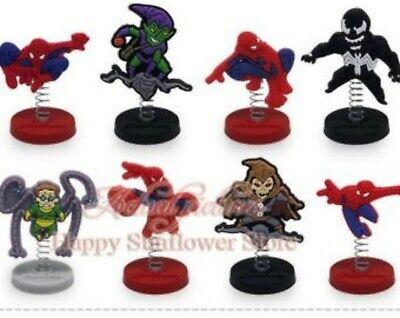 Spiderman Marvel  Birthday Cake Toppers  1/4